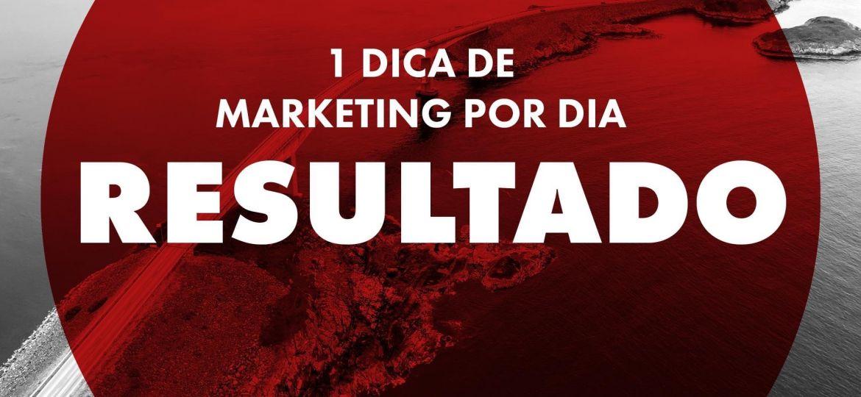 Dicas de Marketing - Resultado