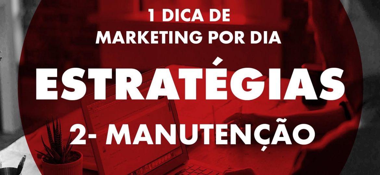 Estratégias - Manutenção