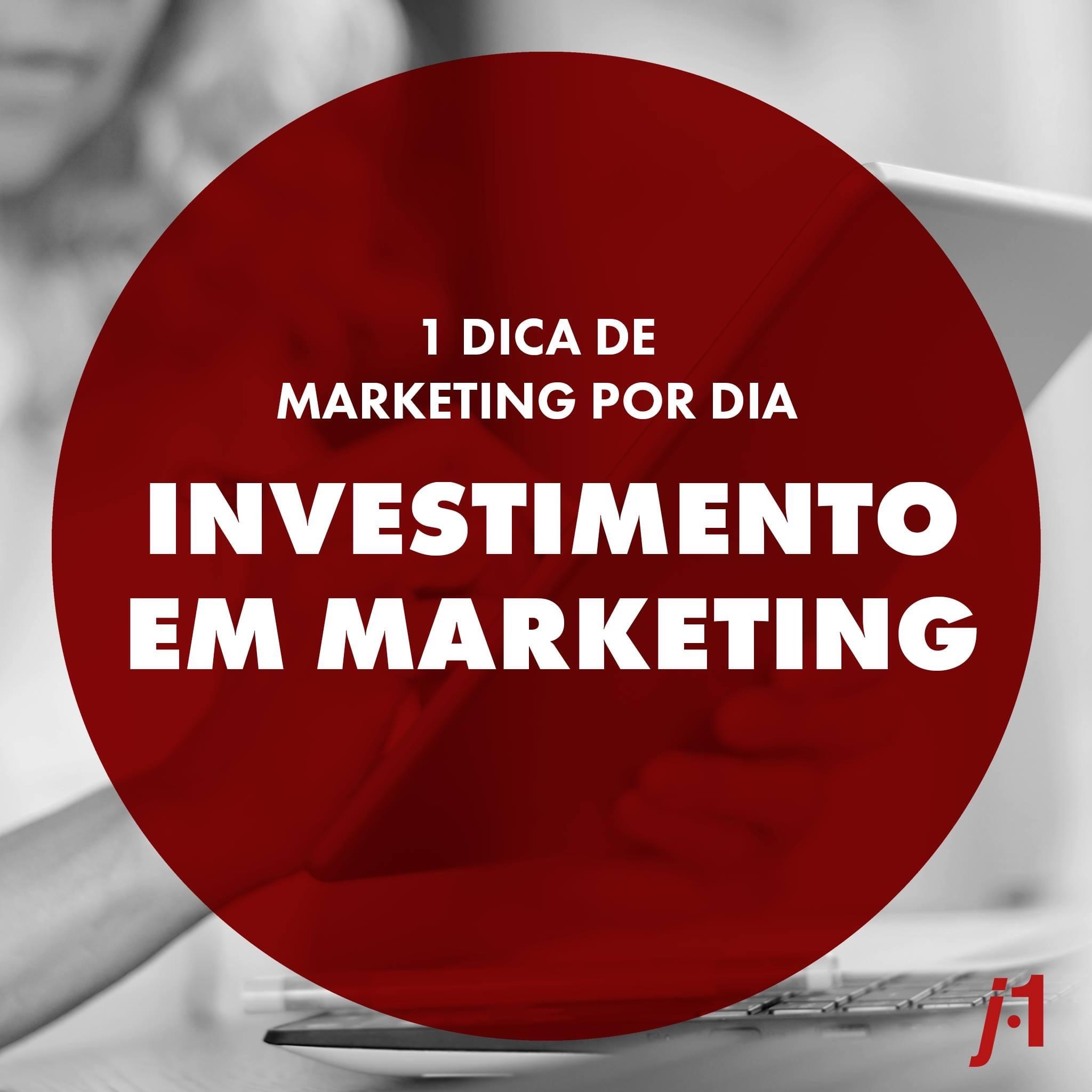 Investimento em Marketing