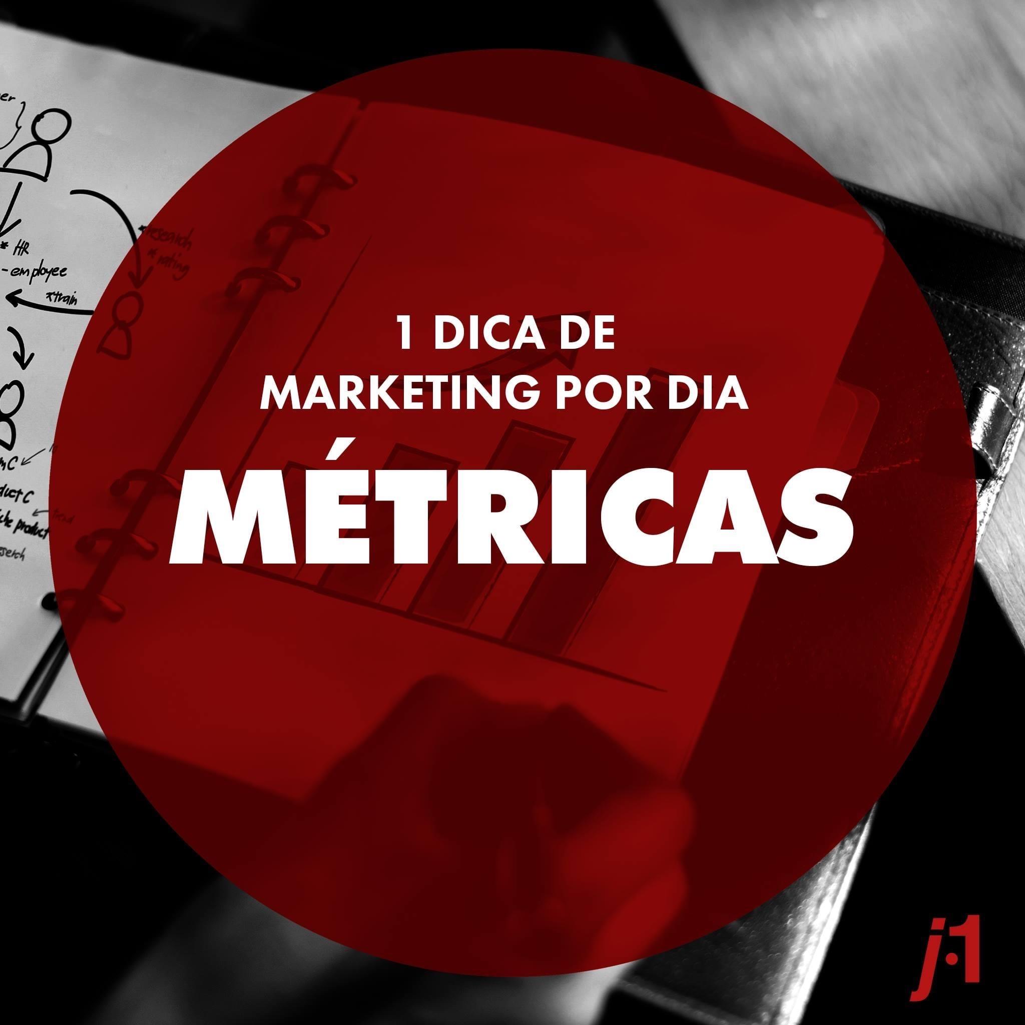 Dicas de Marketing - Métricas